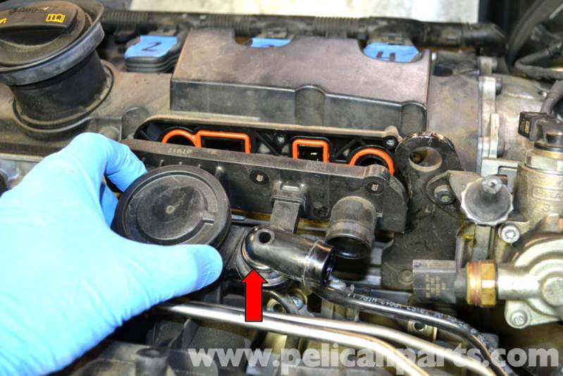 Volkswagen Golf Gti Mk V Crankcase Ventilation Valve