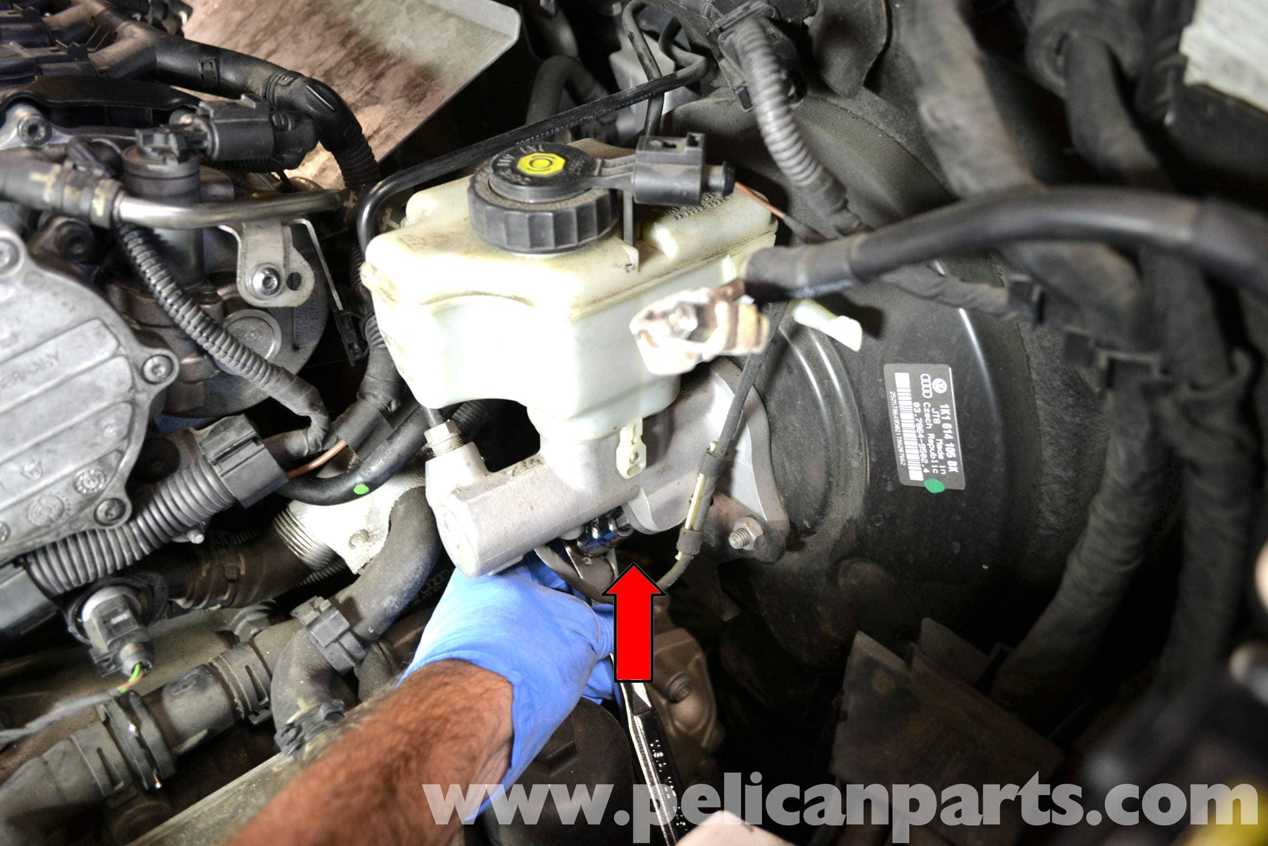 Volkswagen Golf Gti Mk V Brake Light Switch Replacement