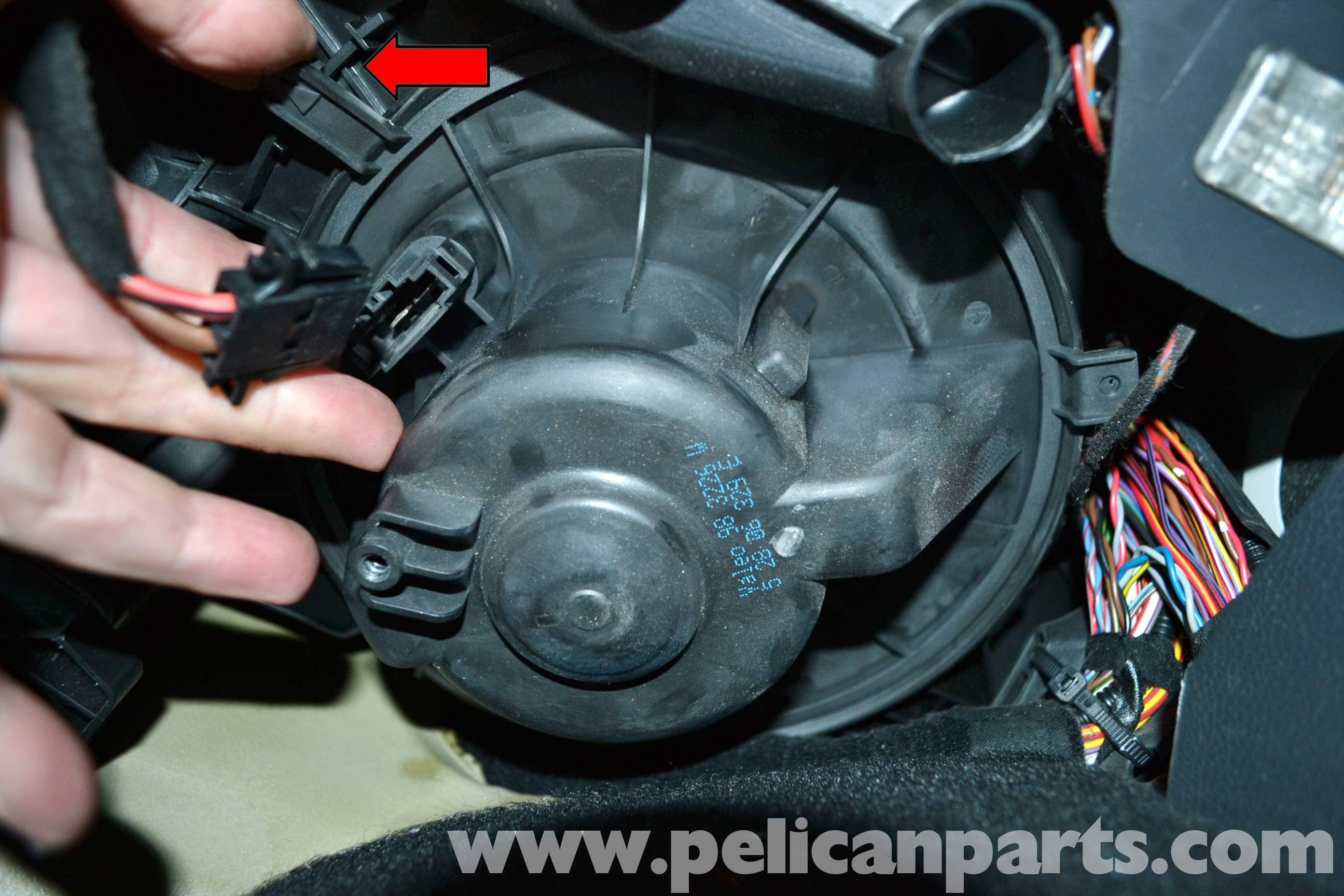 Volkswagen Golf Gti Mk V Blower Motor Replacement 2006