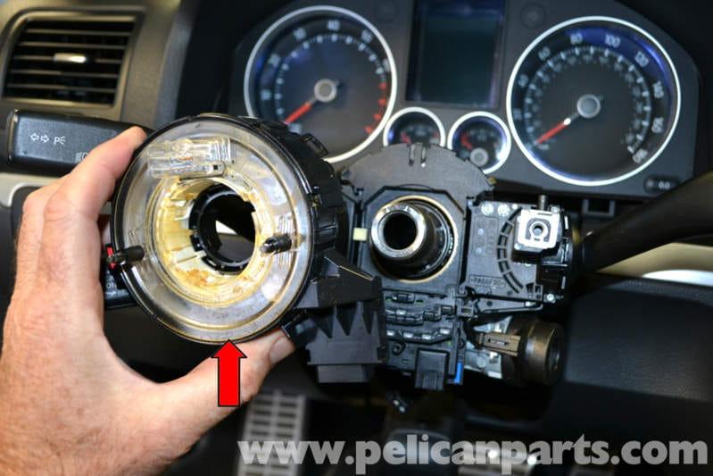 Volkswagen Golf Gti Mk V Steering Column Stalks Replacement  2006-2009