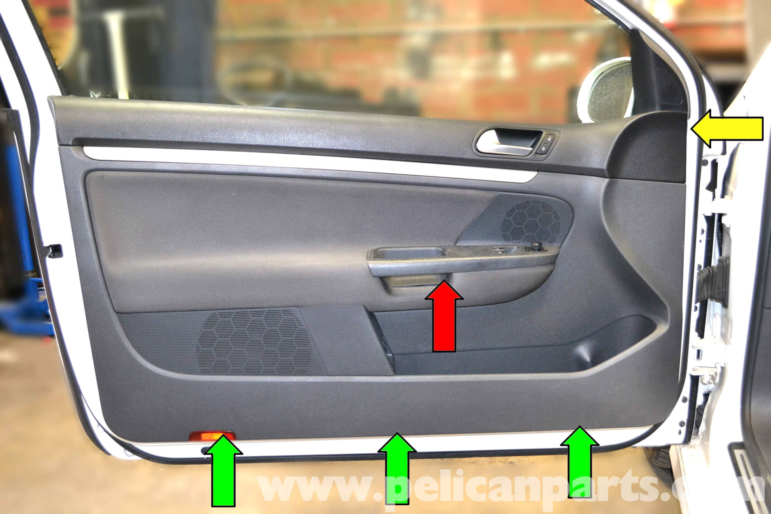 Volkswagen Golf Gti Mk V Front Door Panel Removal 2006
