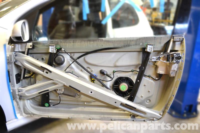 Volkswagen Golf Gti Mk V Front Door Skin Removal 2006
