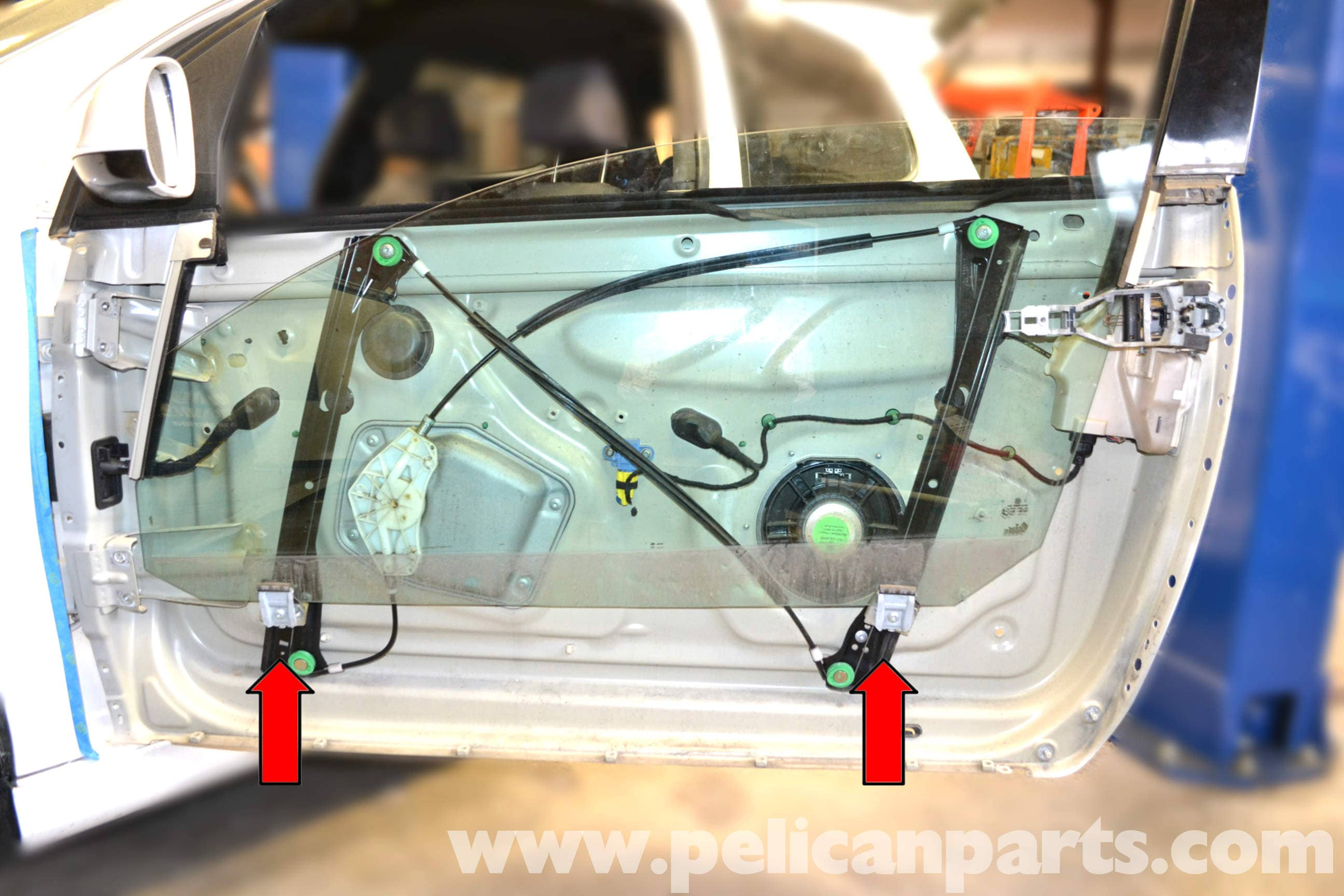 Volkswagen Golf Gti Mk V Window Regulator And Motor