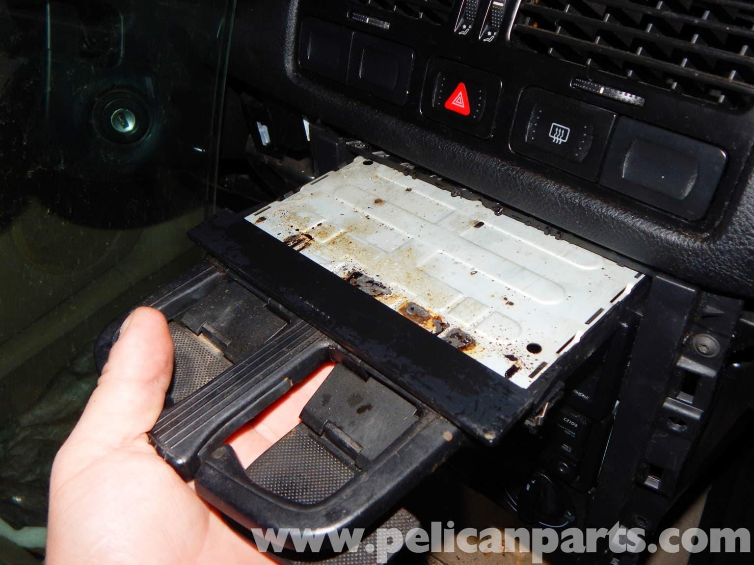 Volkswagen jetta mk4 cup holder replacement jetta mk4 2 0l 1998 2005 pelican parts diy for Vw jetta interior replacement parts