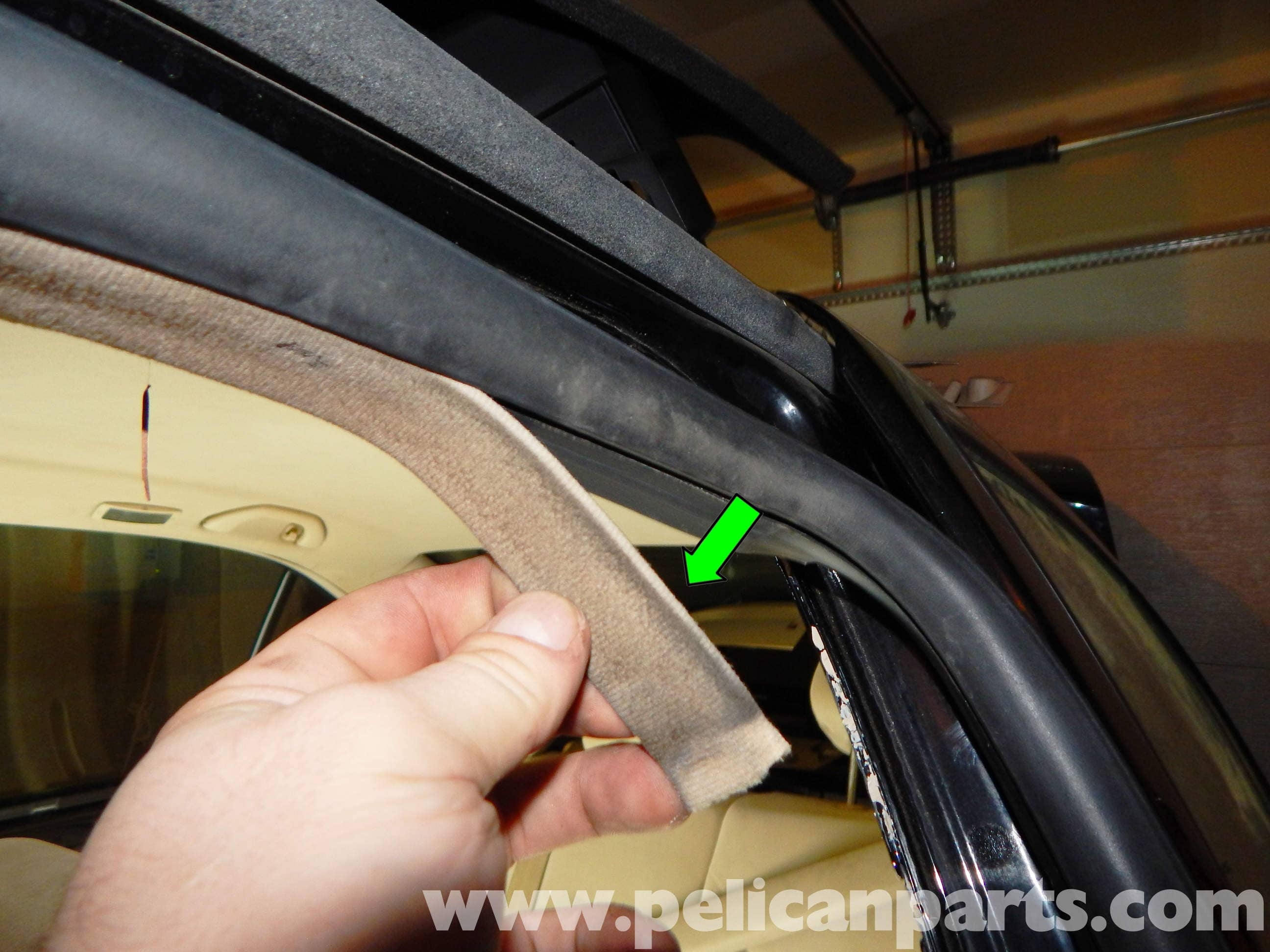 Volkswagen Jetta Mkiv Front Door Seal Replacement 1999