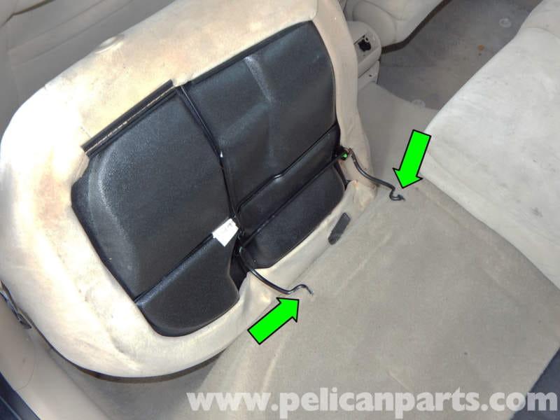Volkswagen Jetta Mk4 Rear Seat Removal Jetta Mk4 2 0l 1998 2005 Pelican Parts Diy
