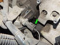 The oil pressure sender is located just up from the oil filter, on the side of the oil cooler/adapter.