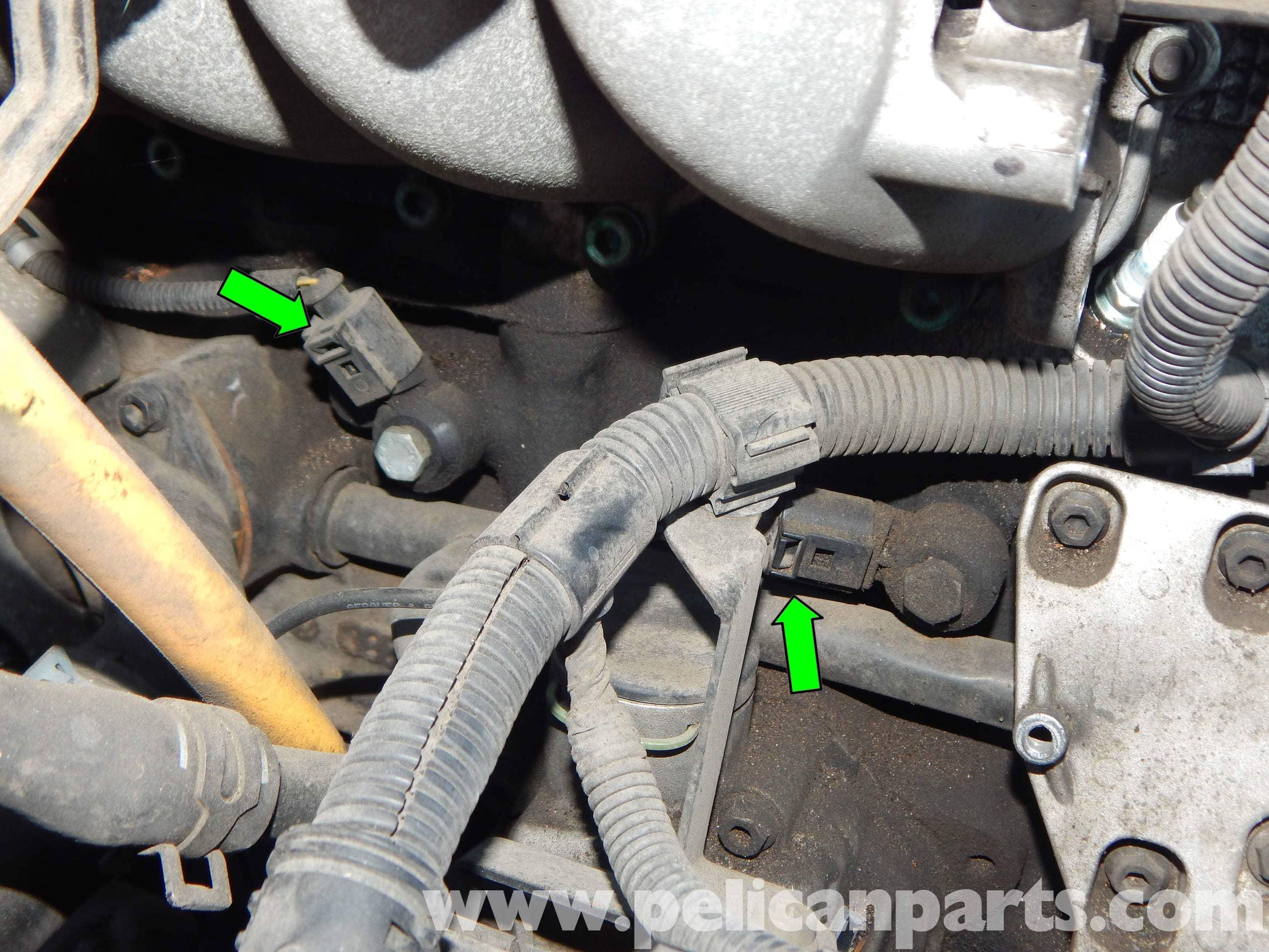 volkswagen jetta mk knock sensor replacement jetta mk    pelican parts diy