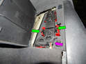 Left and Right Taillights - Open the access door inside the trunk to access the back of the taillight lens.