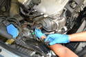 Once the sensor is lose you will have to spin it and the wiring together by hand to remove it from the pipe.