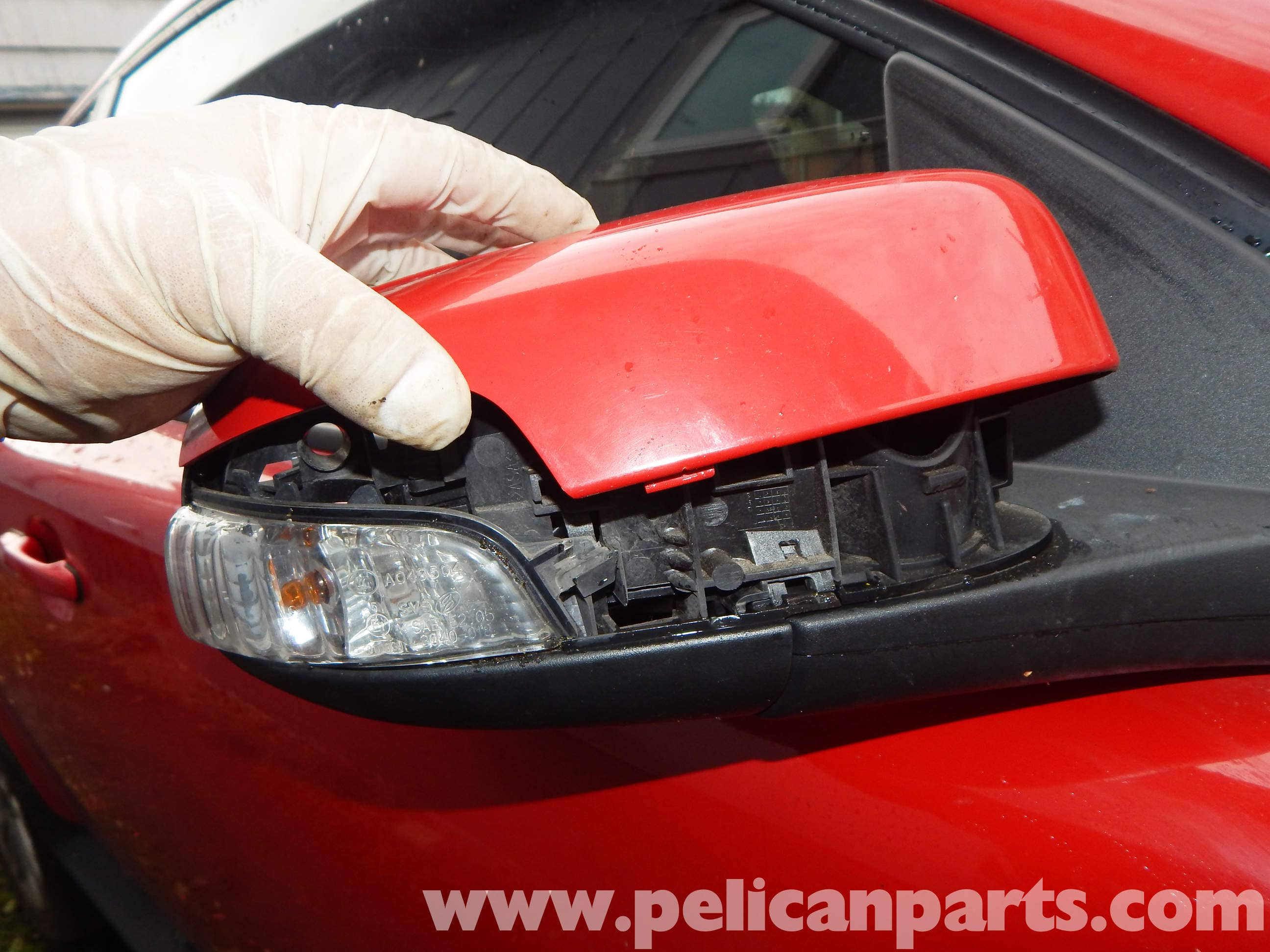 Volvo C30 Outside Mirror Light Bulb Replacement C30 T5