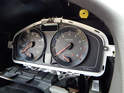 The factory manual says to remove the instrument cluster as one piece.