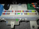 Remove fuse number 74 (green arrows) from the fuse panel and start the engine.