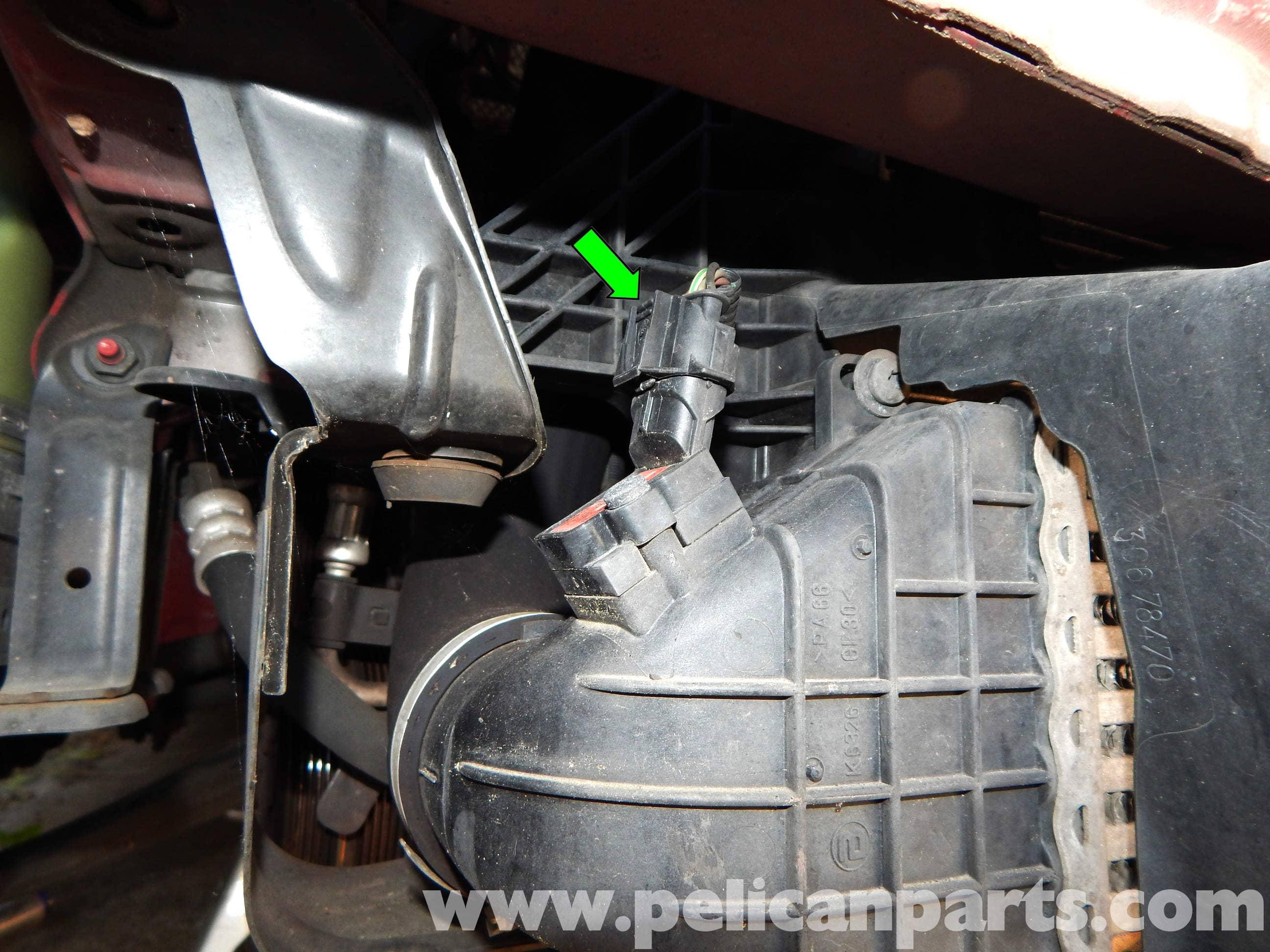 volvo c30 boost pressure sensor replacement  2007