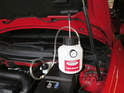 You'll need to bleed the braking system of air once the master cylinder is replaced.