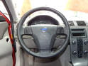 Shown here is the steering wheel on the Volvo C30.