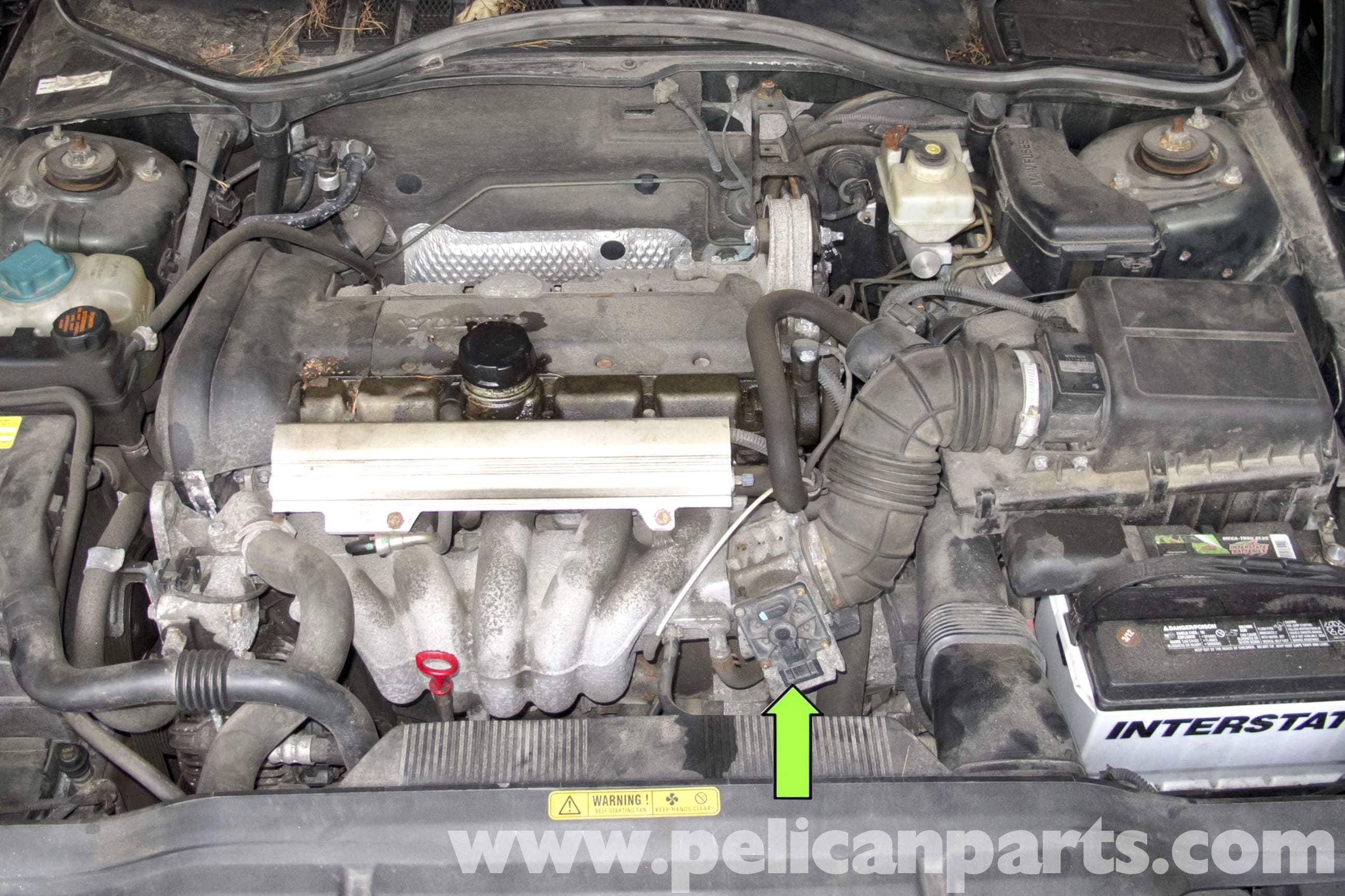 Volvo S40 Throttle Body - Large Image Extra Large Image - Volvo S40 Throttle Body