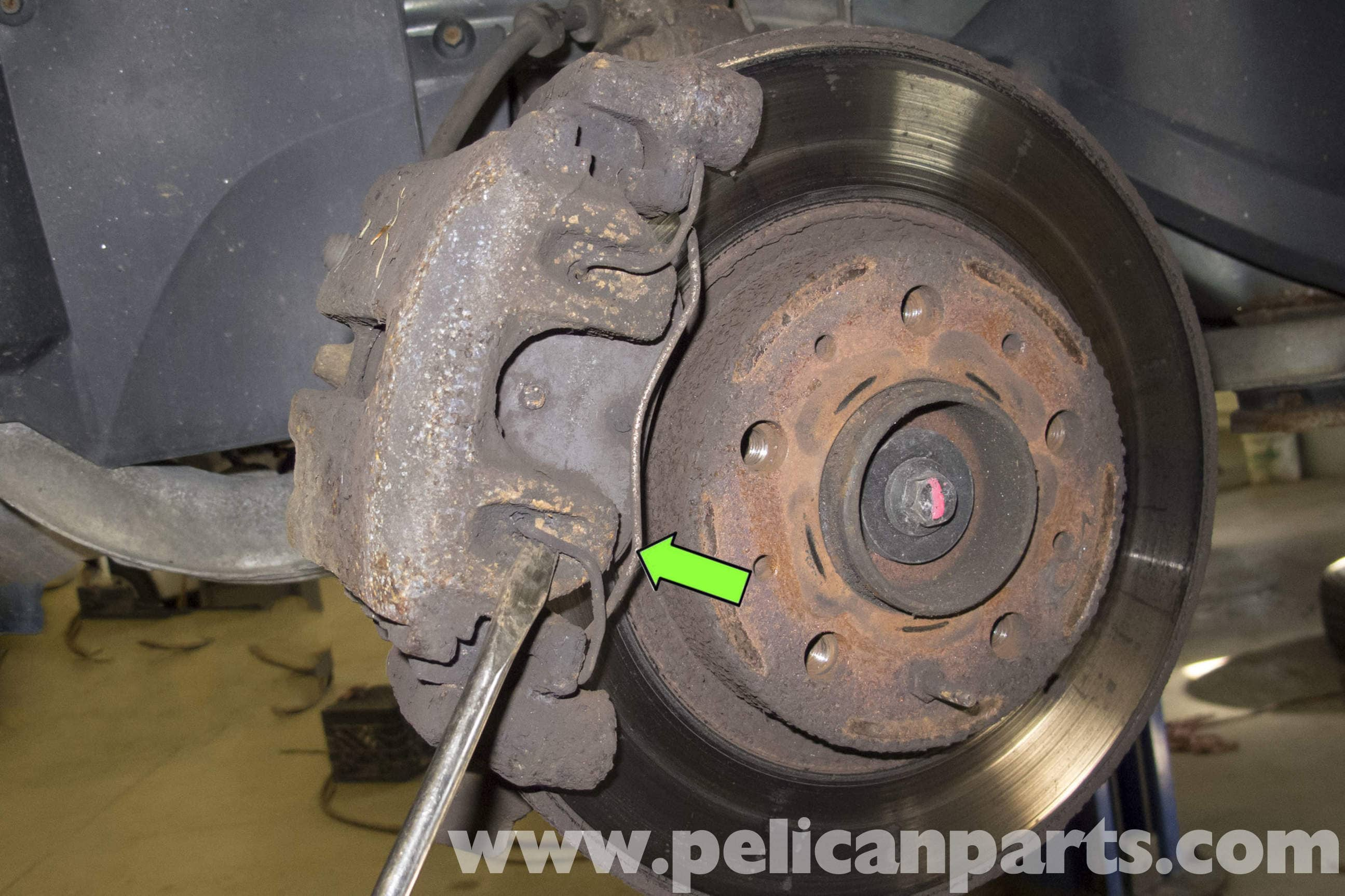 Volvo V70 Front Brake Caliper And Hose Replacement 1998