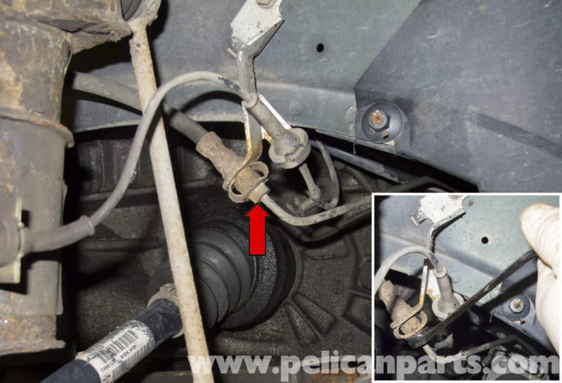 When To Change Brake Lining : Volvo v front brake caliper and hose replacement