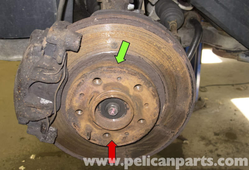 Volvo V70 Brake Rotor Specification Checking (1998-2007 ...