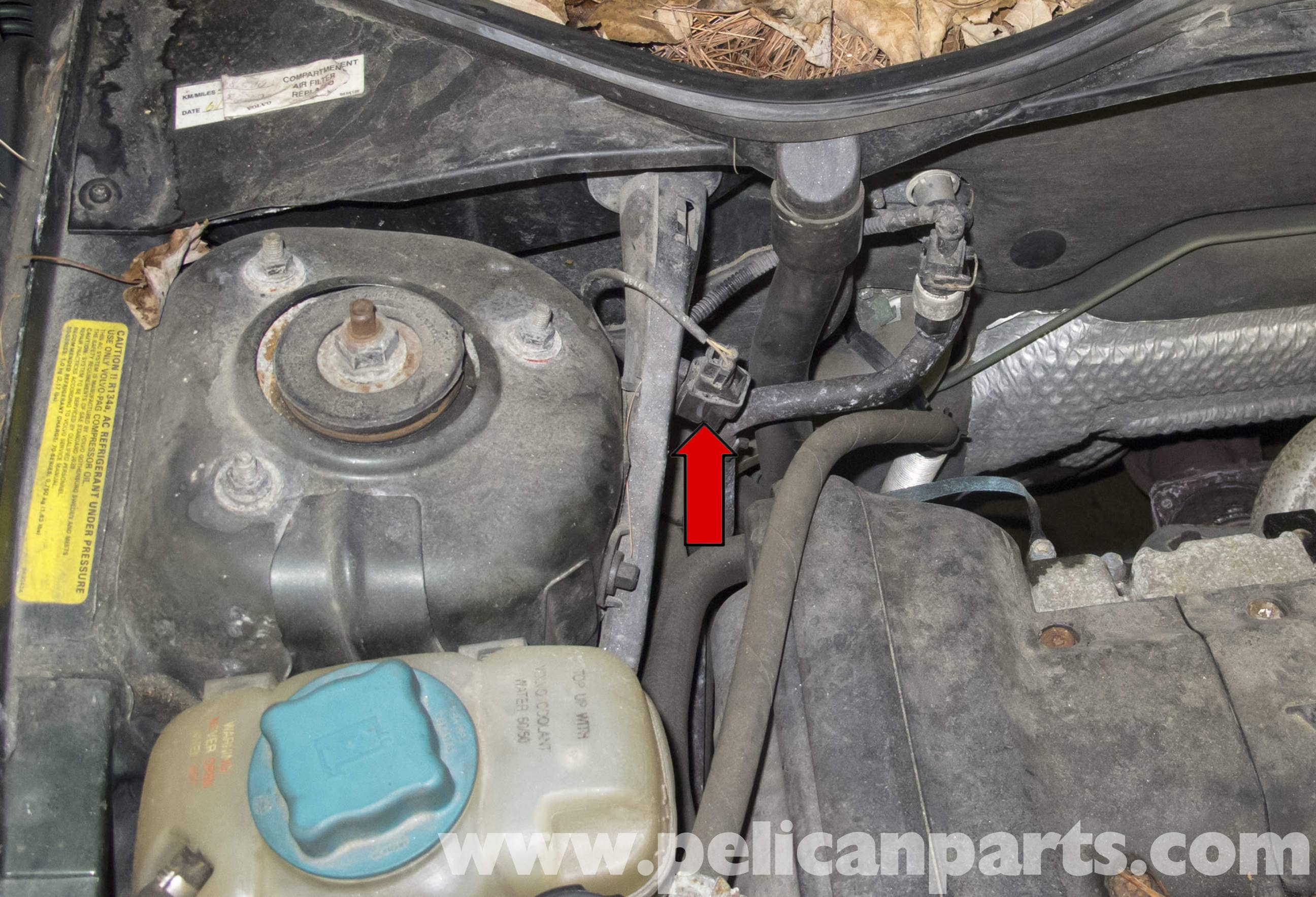 Volvo V70 Abs Wheel Speed Sensor Replacement  1998