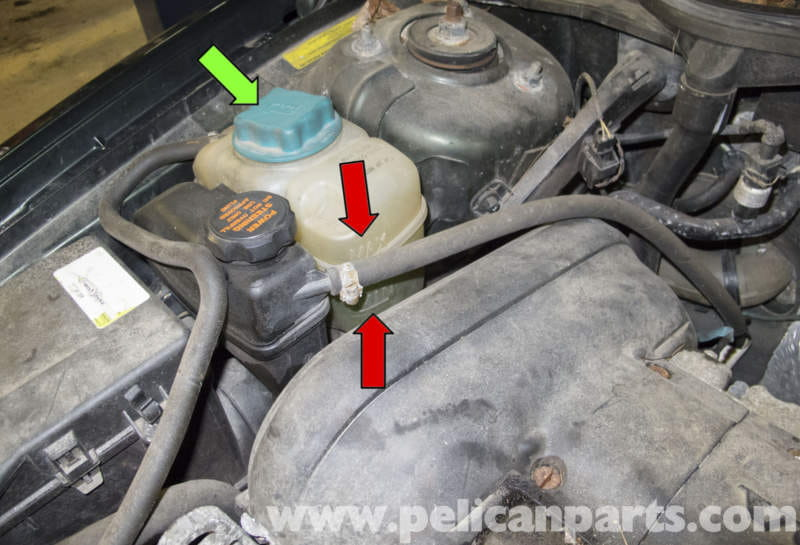 Volvo V70 Coolant System Draining And Filling 1998 2007