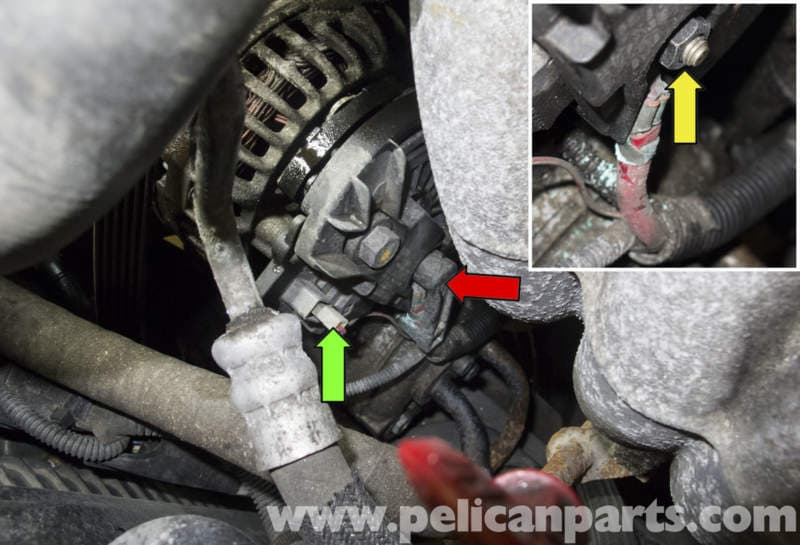 Volvo V70 Alternator Replacement  1998-2007