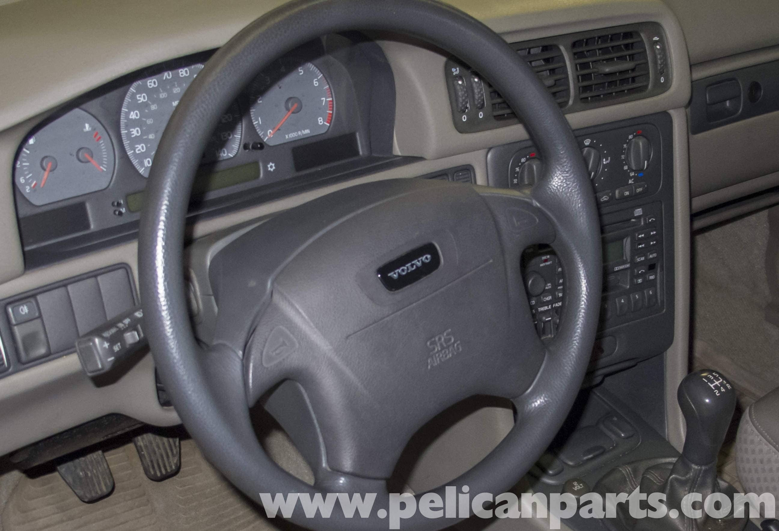 Volvo V70 Steering Wheel And Airbag Replacement 1998 2007