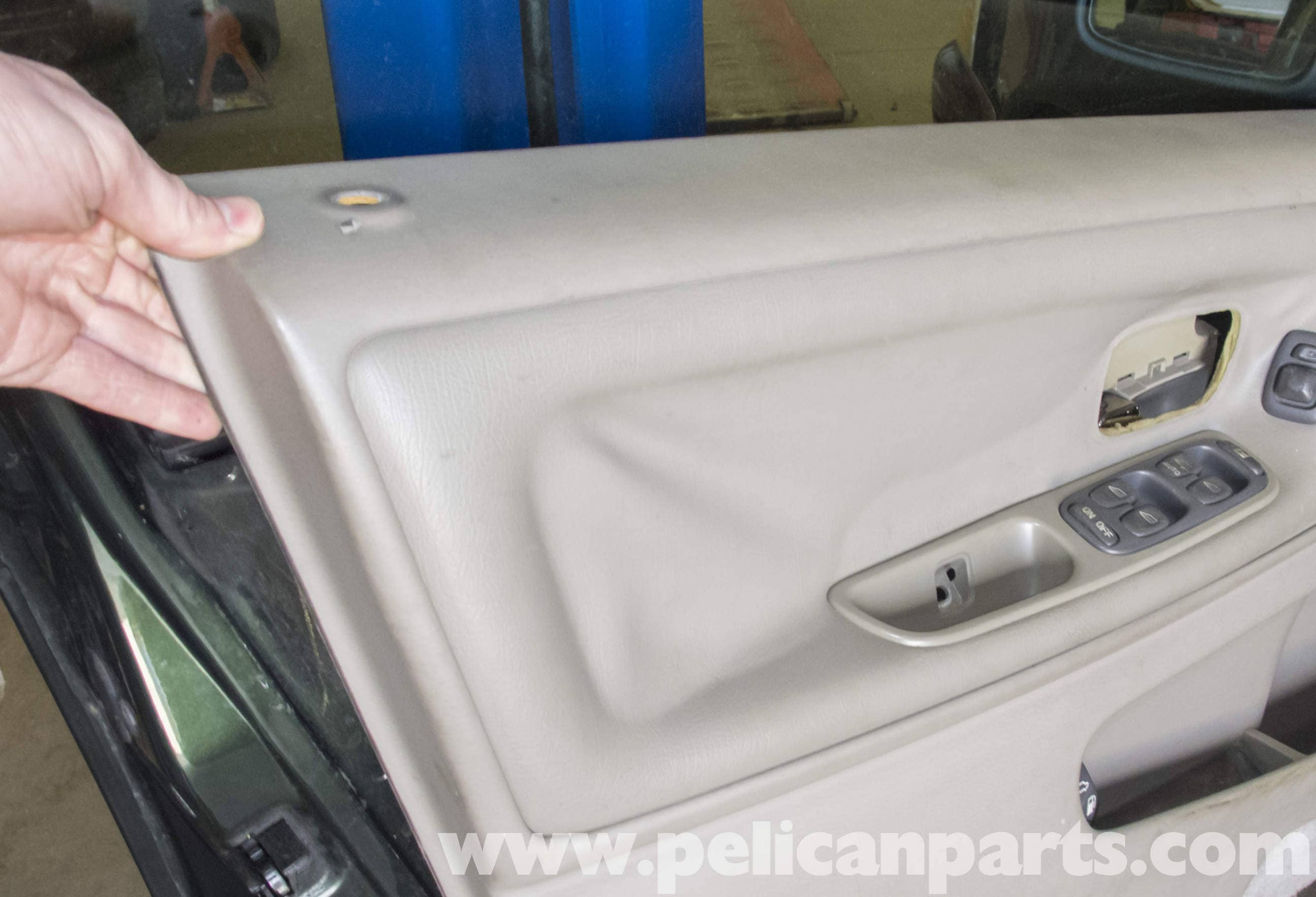 Volvo v70 front door panel replacement 1998 2007 pelican parts large image extra large image eventelaan Gallery