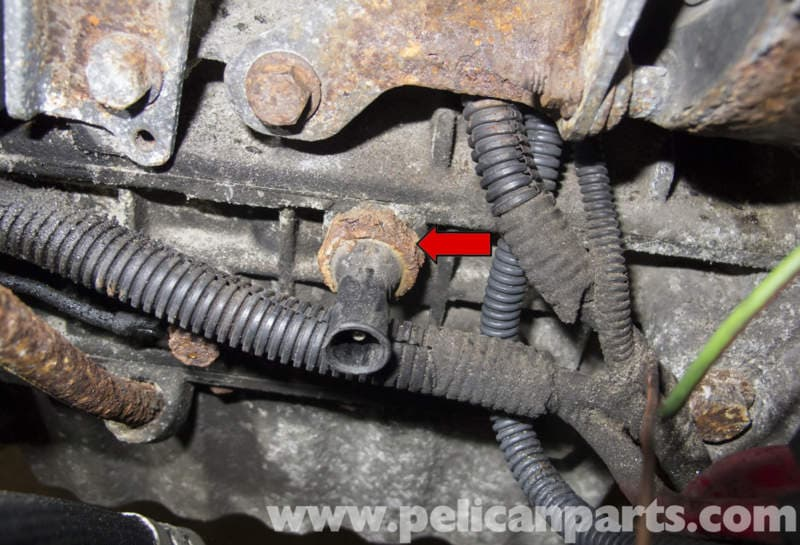 how to clean old oil out of engine