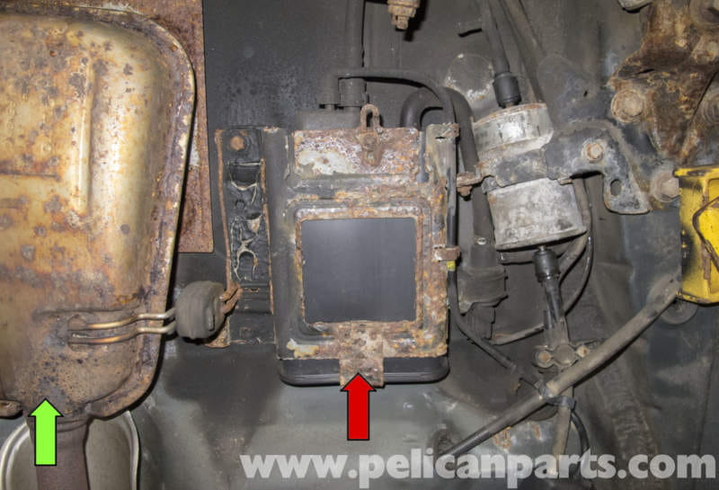 Volvo V70 Charcoal Canistor Replacement 1998 2007
