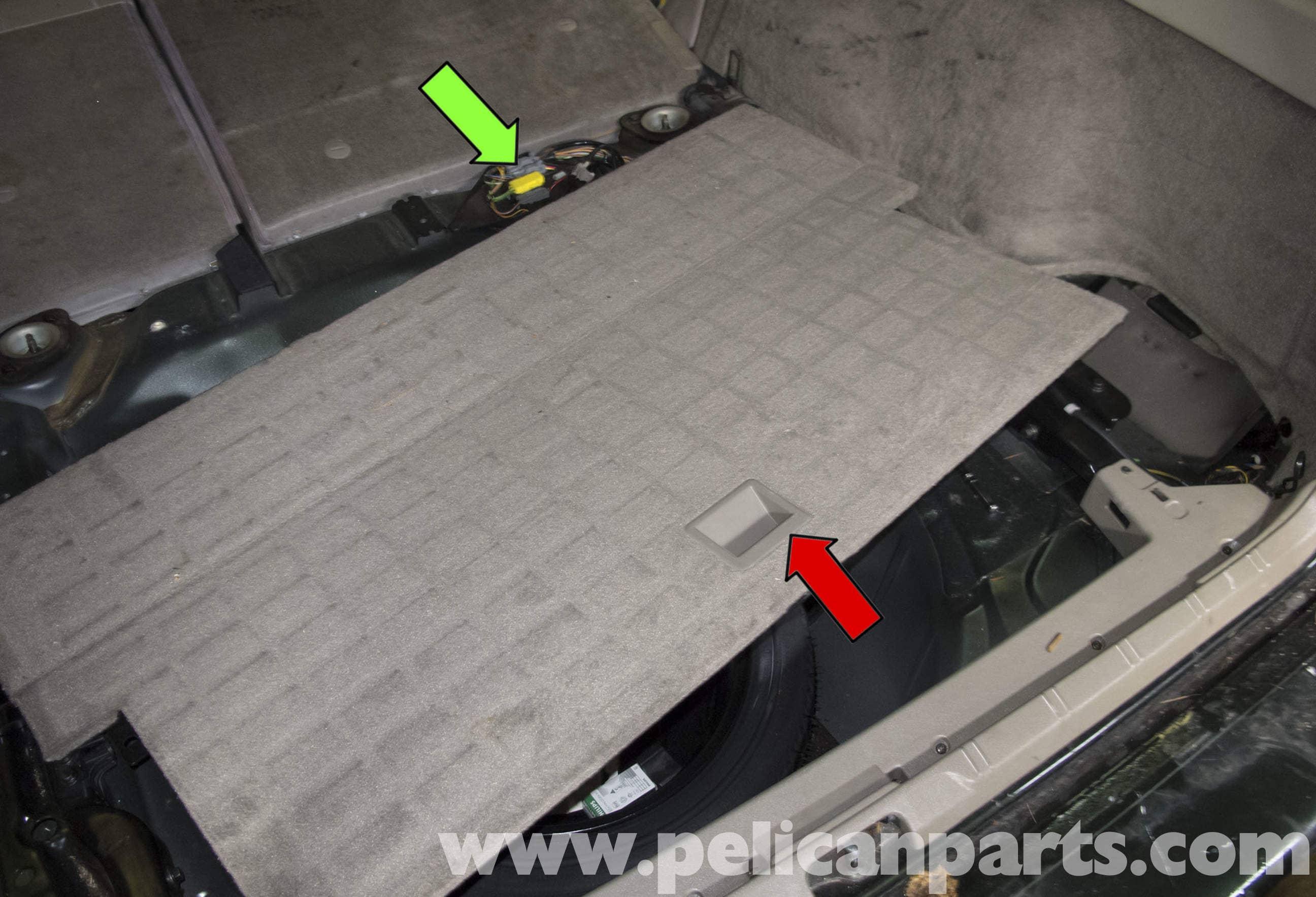 Volvo V Fuel Pump Replacement  Pelican Parts DIY - 1998 volvo v70 wagon wiring diagram