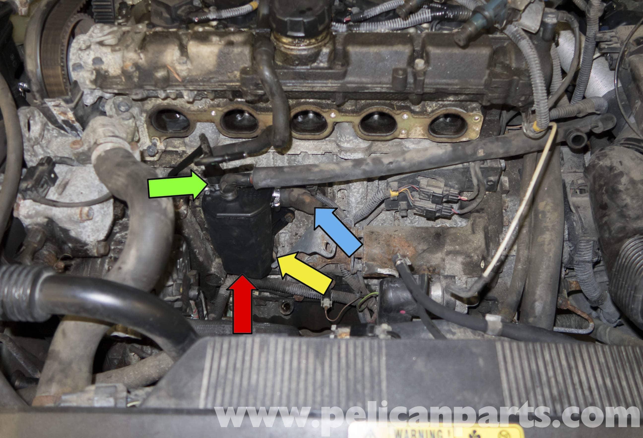 Volvo V70 Crankcase Breather Replacement 1998 2007
