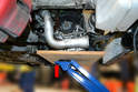 You are going to need to support and be able to lift the motor while performing this job.