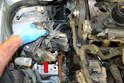 Remove the motor mount from the vehicle.