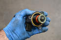 Inspect the valve for spring tension and that none of the diaphragms are ripped or torn.