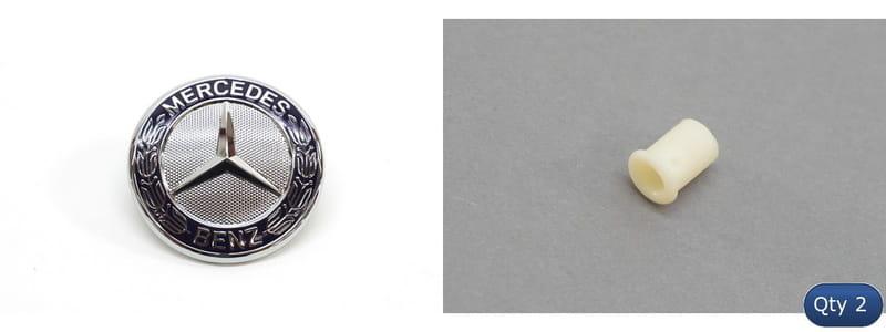 Grille Emblem Genuine For Mercedes 2048170316