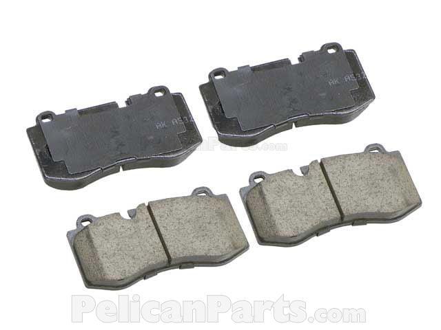 Mercedes-Benz Brake Pad Set - 0044208020 - Akebono Euro EUR 1223 004 420 80  20