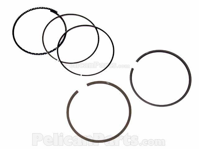 90.00 mm Standard SAAB 9000 900 9-3 1990 1991-1999 Goetze Piston Ring Set