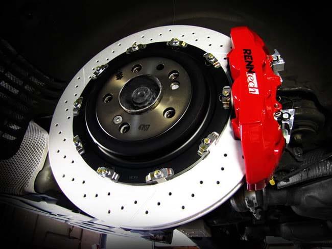 Mercedes RENNtech Rear Brake Performance Upgrade PEL PKG 219