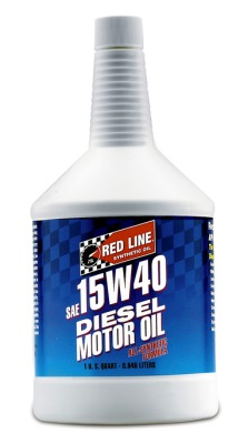 Red line synthetic oil products for Redline 15w40 diesel motor oil