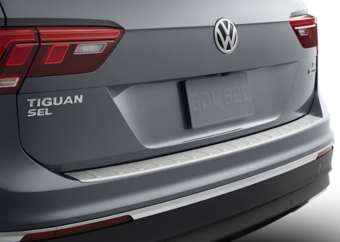 Rear Bumper Protection Plate, Tiguan (2018+) - PelicanParts.com