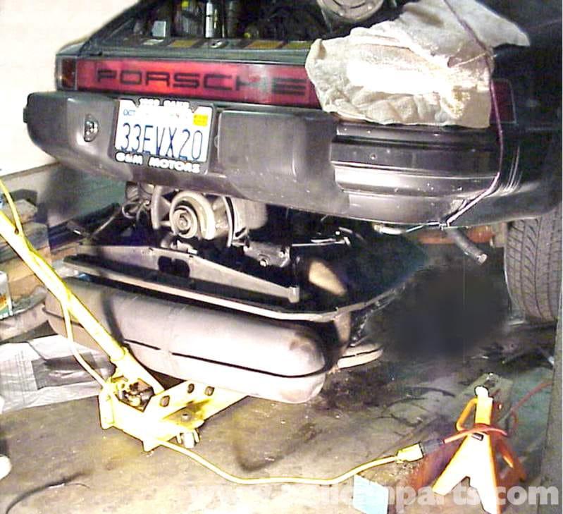 Porsche Boxster Engine Service: Porsche 911 Engine Removal