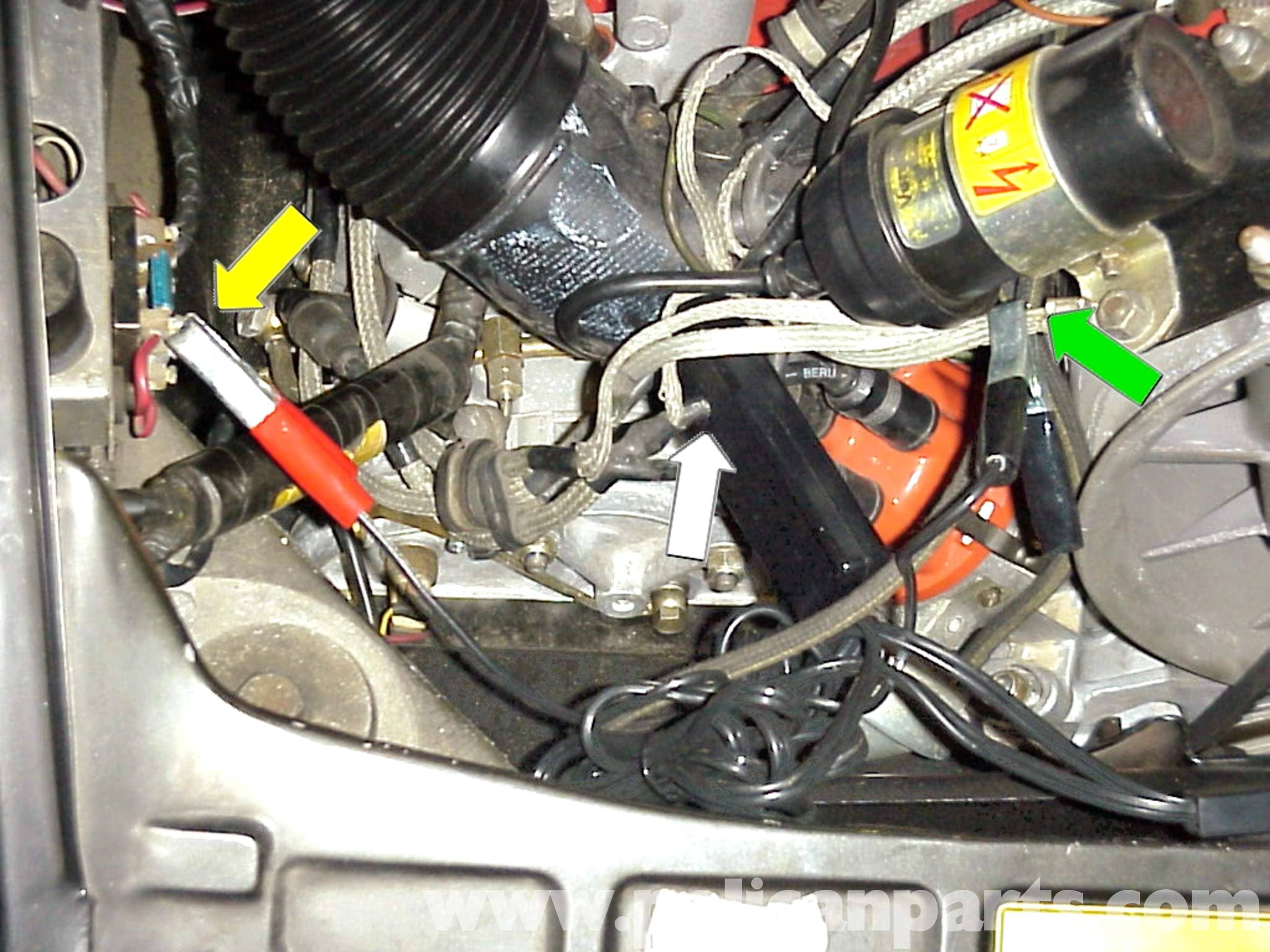 pic2 porsche 911 setting the timing, dwell and idle speed 911 (1965 Hayden Electric Fan Wiring Diagram at metegol.co
