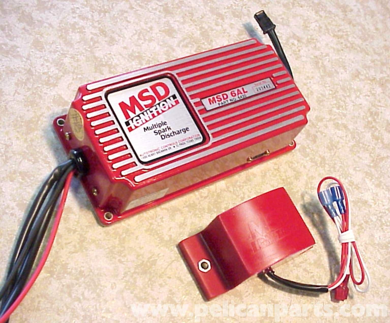 Porsche 911 Msd Ignition Unit Installation 1965 89 930 Tach To 6al Wiring Large Image