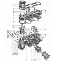 This exploded view of the 911 carburetor shows you where and how every little piece goes when reassembling the unit.