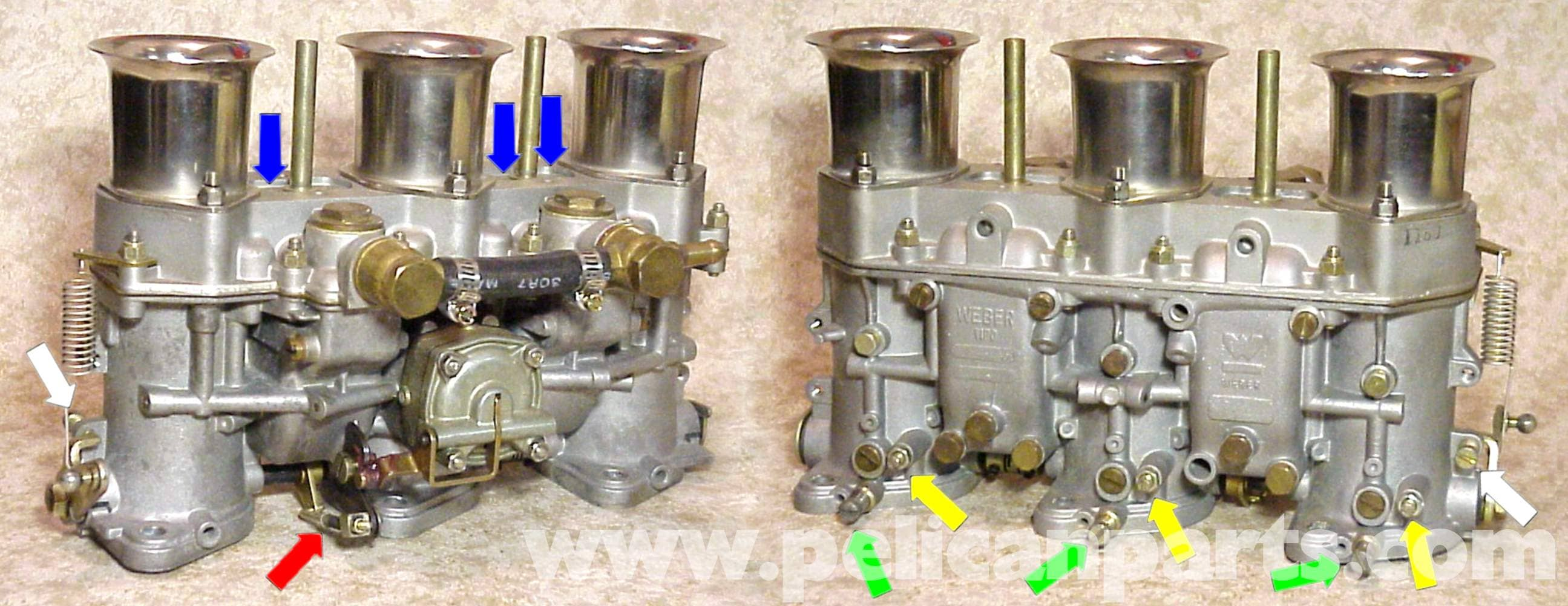 Porsche 911 Carburetor Adjustment Balance And Tuning 1965 73 Likewise Wiring Diagram As Well 1983 Large Image Extra