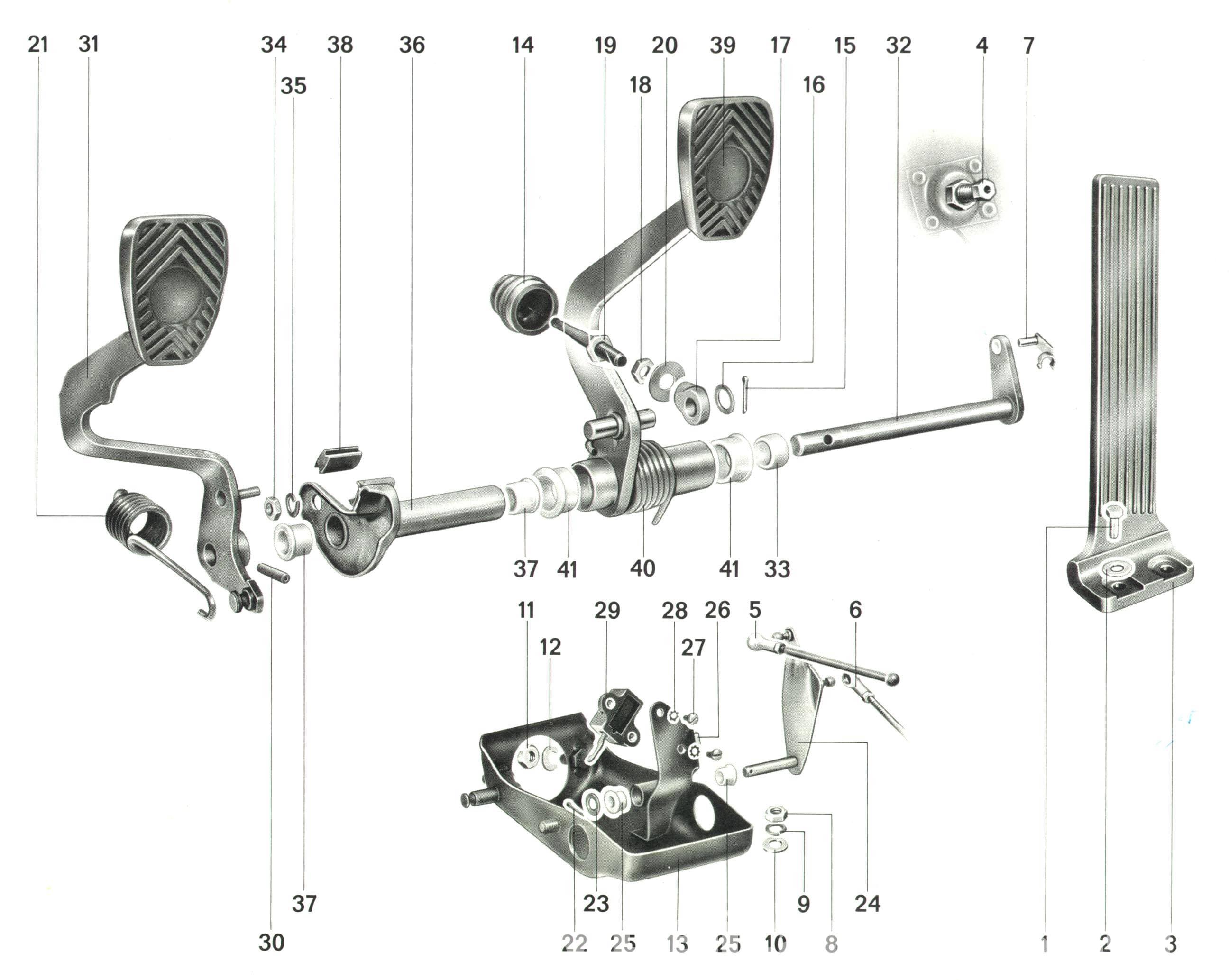 Porsche 911 Pedal Cluster Rebuild 911 1965 89 930 Turbo 1975 89 Pelican Parts Diy Maintenance Article