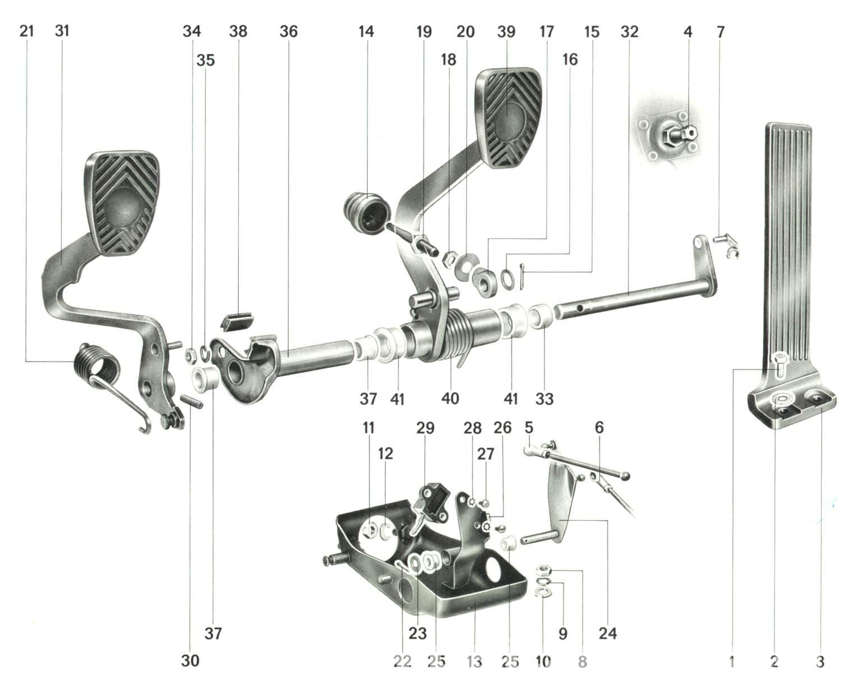 Porsche 911 Pedal Cluster Rebuild 911 1965 89 930