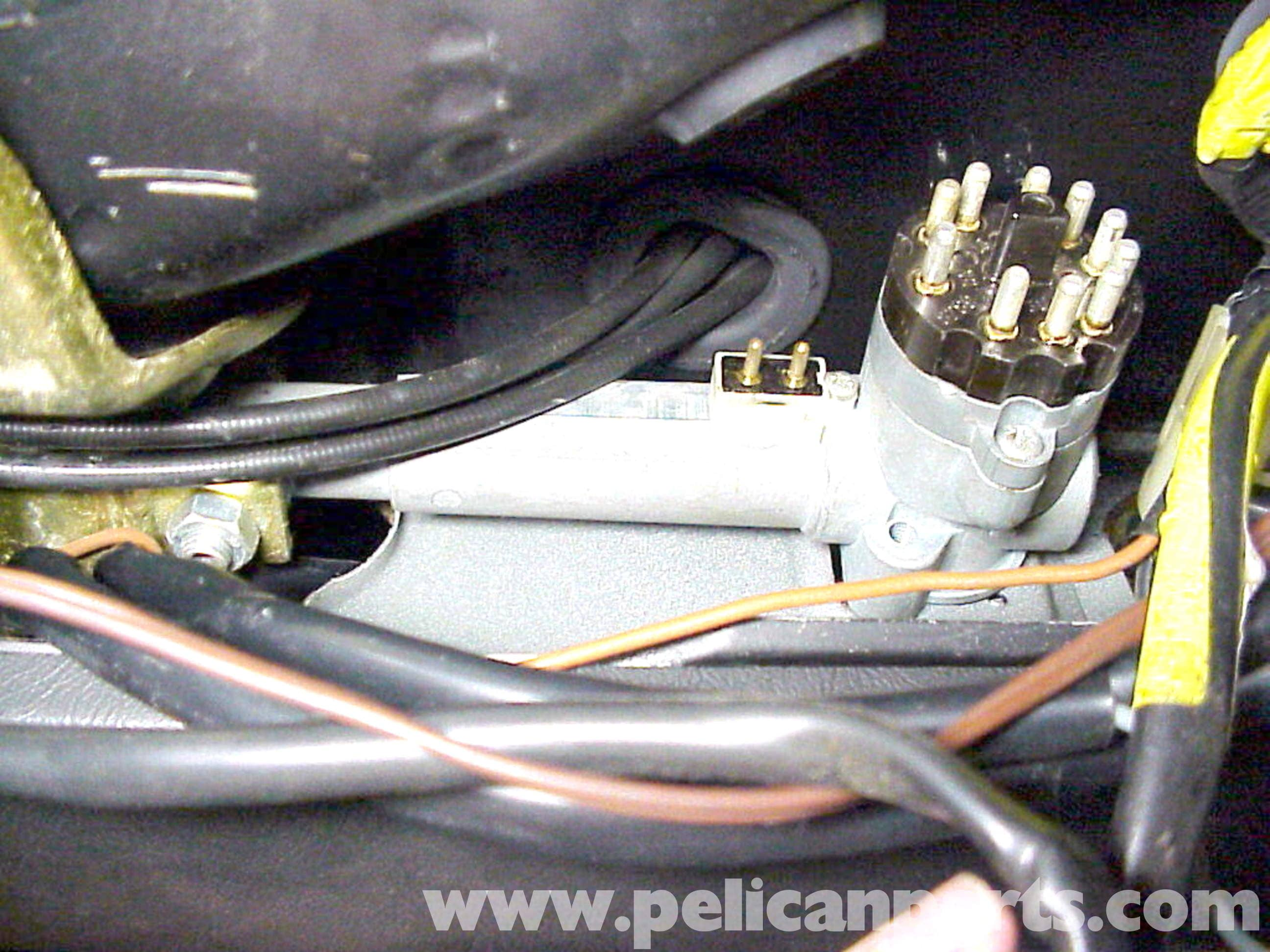 Porsche 911 Wiring Harness Removal Books Of Diagram Loom Ignition Switch Replacement 1965 89 930 Turbo Rh Pelicanparts Com